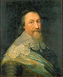 Axel Oxenstierna im Jahr 1635