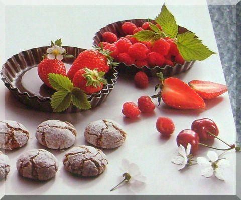 Erdbeeren und Kirschen