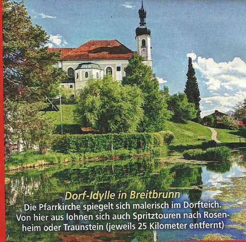 Pfarrkirche in Breitbrunn