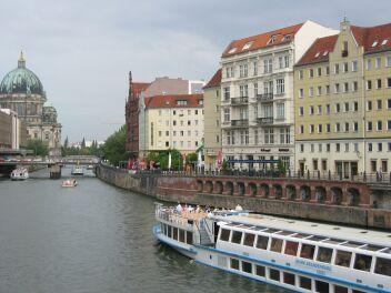 Wasser - Die Spree - in Berlin !