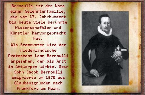 Familie Bernoulli