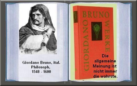 Giordano Bruno ital. Philosoph