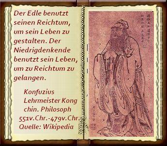 Konfuzius Lehrmeister Kong