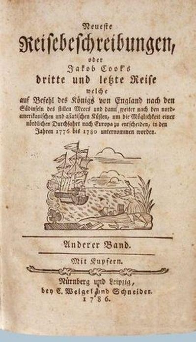 Reisebeschreibungen aus den Jahren 1776 bis 1780