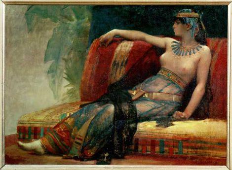 12. August 30 vor Chr. Die ägyptische Königin Cleopatra VII. begeht Selbstmord, angeblich durch einen Schlangenbiss.