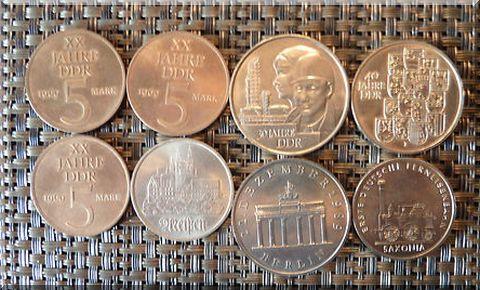 Münzen der DDR