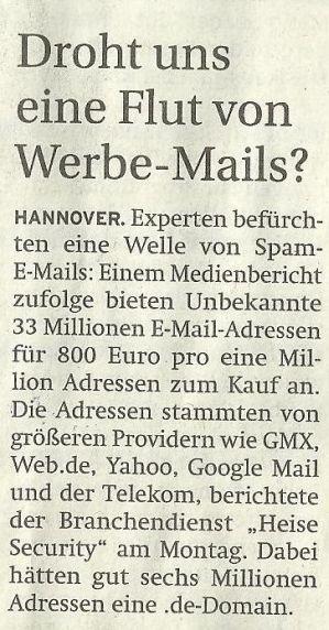Werbe - Mails