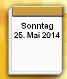 Europa Wahl letzter Tag der 25.05.2014