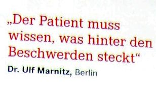 Dr. Ulf Marnitz Berlin