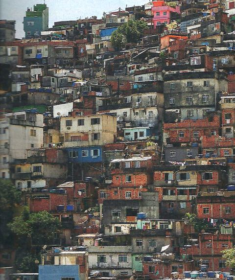 Slums in Brasilien