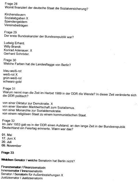 So mancher Deutsche Bürger hat keine Antworten auf diese Fragen.
