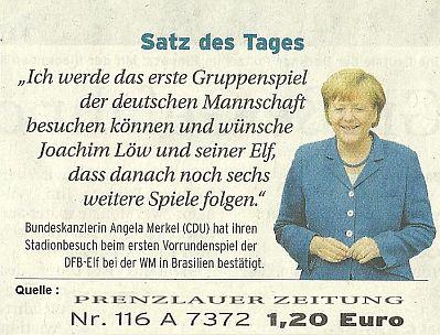 aus Prenzlauer Zeitung am Dienstag 20. Mai 2014