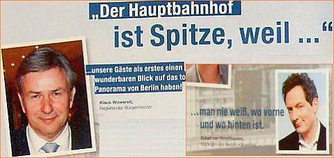 2011 Juni Hauptbahnhof in Berlin feiert 5 jährigen Geburtstag