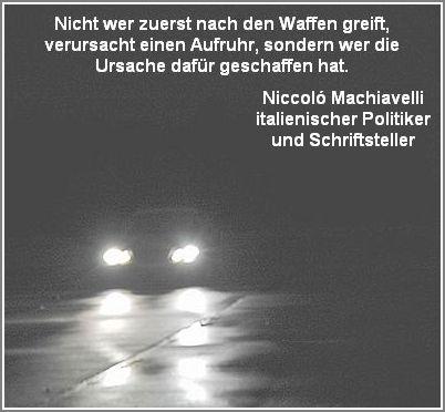 Niccolo Machiavelli italienischer Politiker