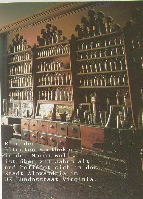 Apotheke 200 Jahre alt