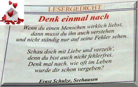 Denk einmal nach von Ernst Schulze