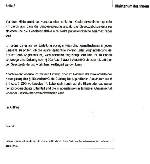 Brandenburg Ministerium des Innern