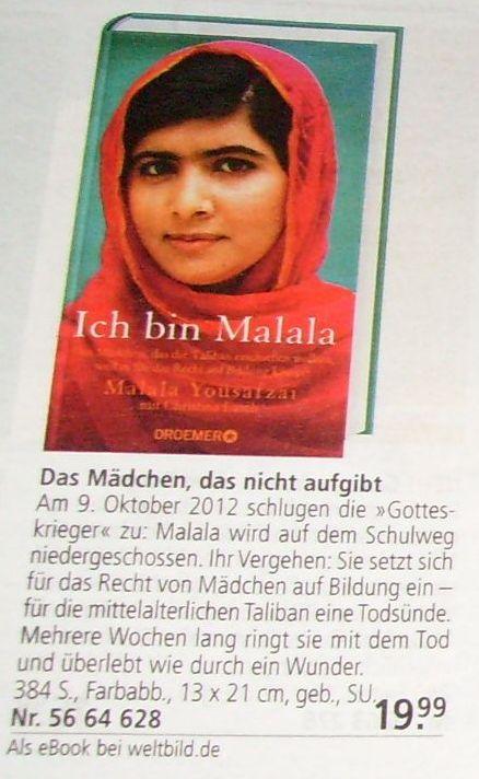 Malala aus Pakistan