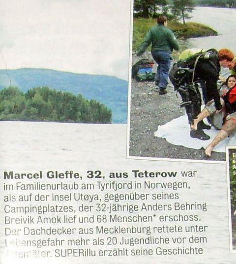 Marcel Gleffe aus Teterow für Norwegen