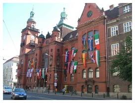 Pankow - Hier das Rathaus Pankow