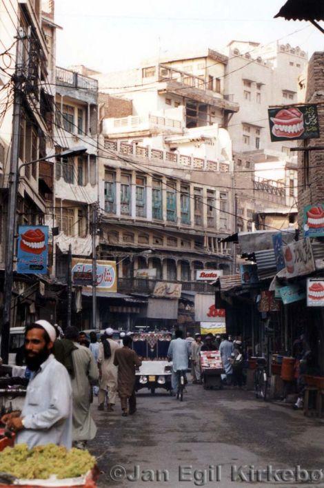 Stadt Peshawar