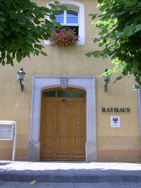 EINGANG - Rathaus in Bad Liebenwerda BL Brandenburg