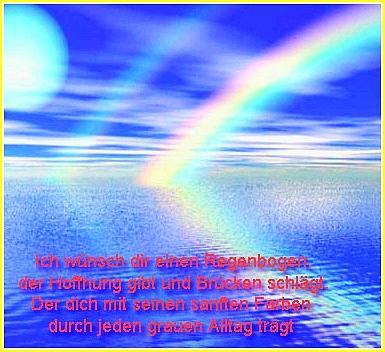Regenbogen - immer wieder eine Faszination - leider schon einige Zeit keinen mehr gesehen !