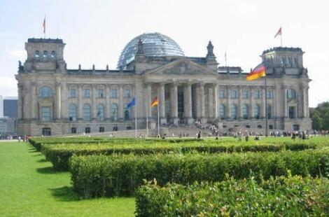 Das Reichstagsgebäude aus einem anderen Blickwinkel