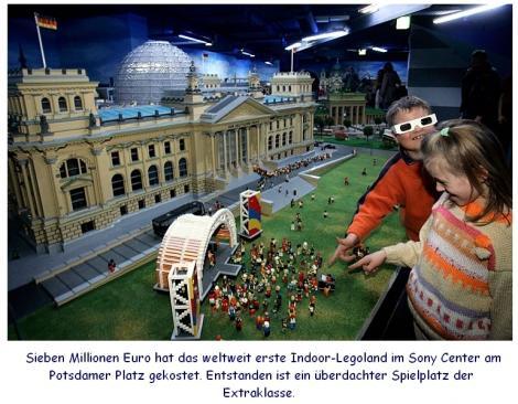 Legoausstellung am Potsdamer Platz