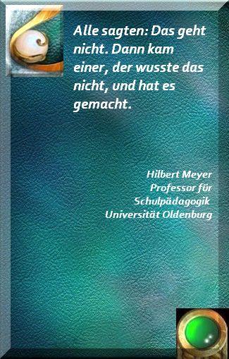 Professor Hilbert Meyer