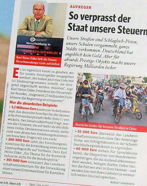 Zeitung : Bild der Frau Ausgabe Nr. 19 vom 06.05.2011