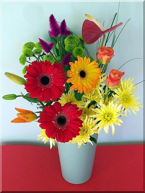 Blumen erwärmen immer wieder unser Herz und unsere Seele