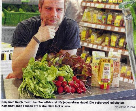 Benjamin Reich über Smoothies