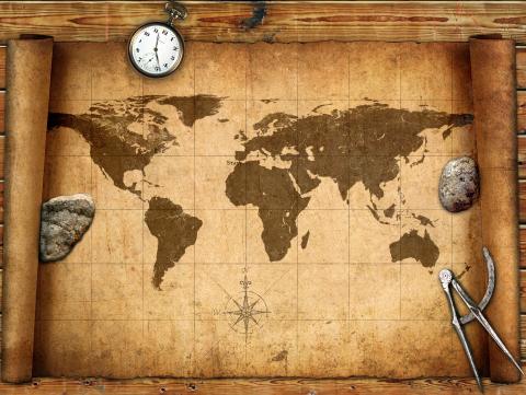 Weltbilder Weltkarte Geografie