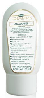 Crema Aclaradora con exfoliante
