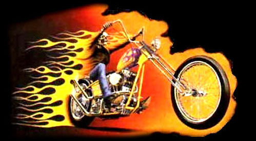 Harley Davidson Happy New Year Picture