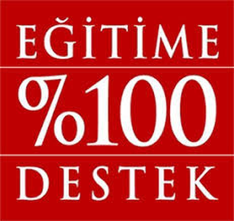 Eğitime % 100 Destek