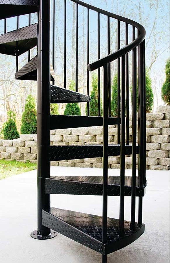 Hierros y aluminios enemar escaleras en hierro - Escaleras de hierro forjado ...
