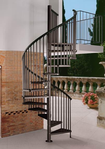 Hierros y aluminios enemar escaleras en hierro for Escaleras exteriores
