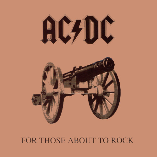 AC/DC - For Those About To Rock 1982