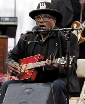 Bo Diddley en 2005