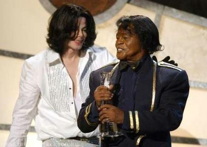 Michael Jackson et James Brown