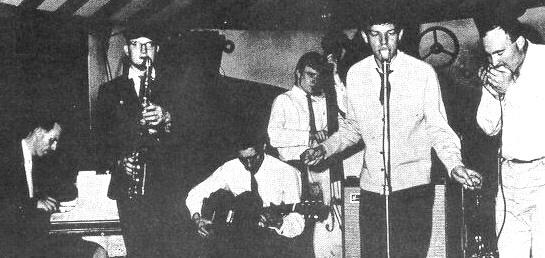 Alexis Korner, Jack Bruce, Mick Jagger & Cyril Davies