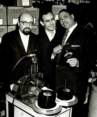 Ahmet Ertegun, Jerry Wexler et Big Joe Turner