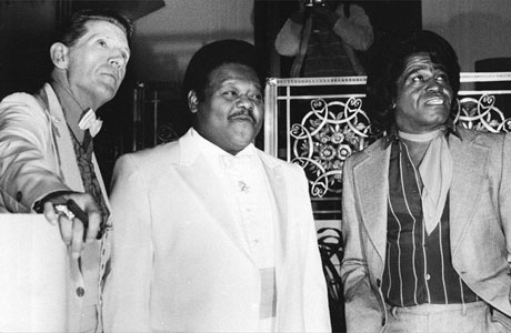 Jerry Lee Lewis, Fats Domino et James Brown