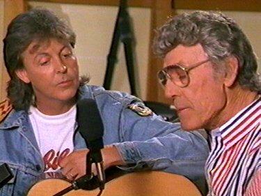Paul McCartney et Carl Perkins