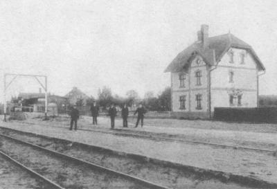 Stęknica - stacja kolejowa