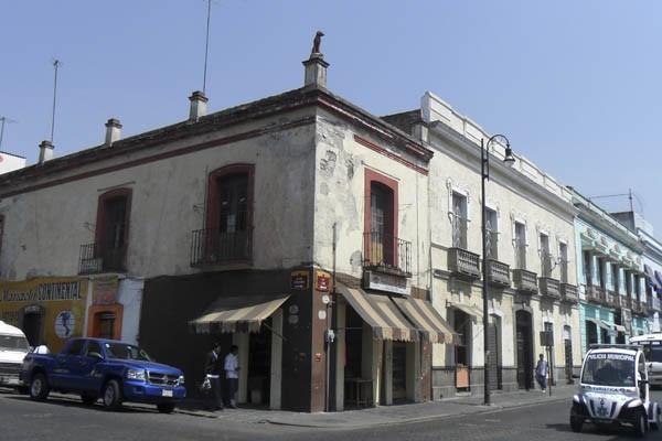 Casa del Perro, en el centro de Puebla
