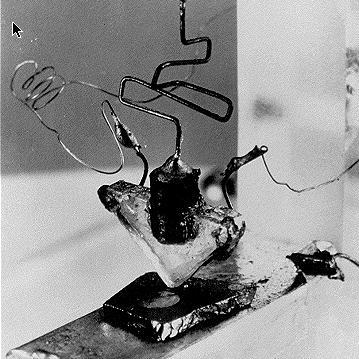 erste Transistor der Welt