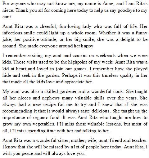 howtowriteeulogy  how to write eulogy
